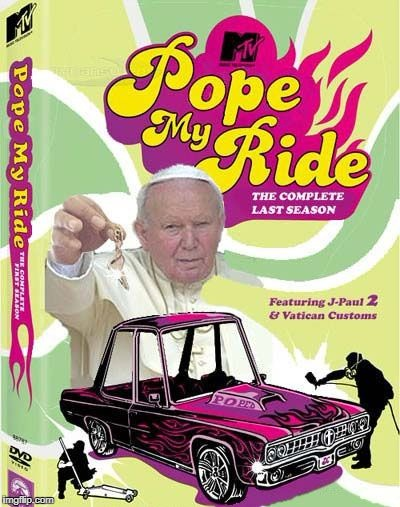 pope my ride | image tagged in pope,pimp dracula | made w/ Imgflip meme maker