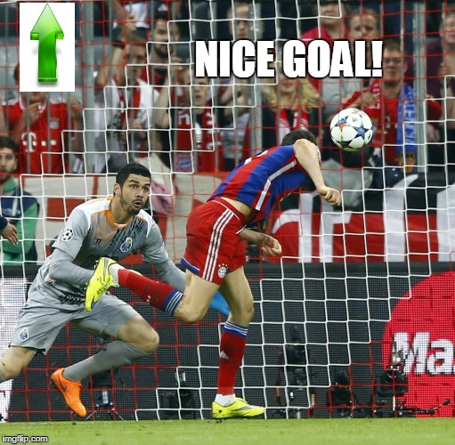 NICE GOAL! | made w/ Imgflip meme maker
