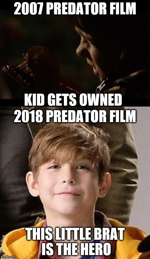 Predator 2007 vs. 2018 - Imgflip
