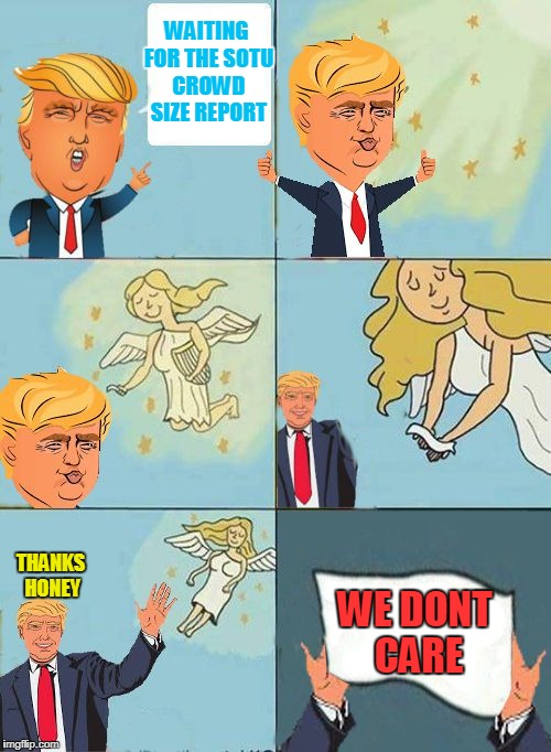 "Just trying to get this template out there. I call it ""We Dont Care Trump"" ;) 