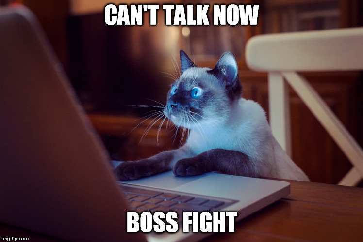 CAN'T TALK NOW BOSS FIGHT | made w/ Imgflip meme maker