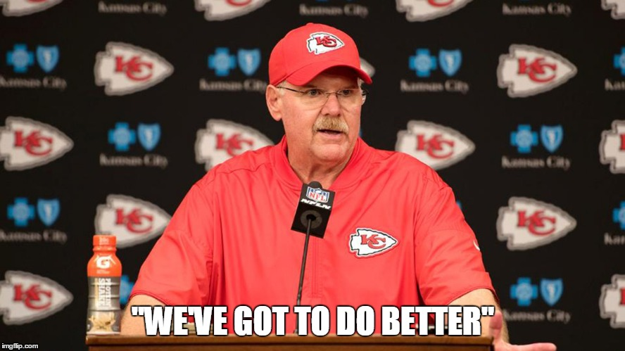 """WE'VE GOT TO DO BETTER"" 