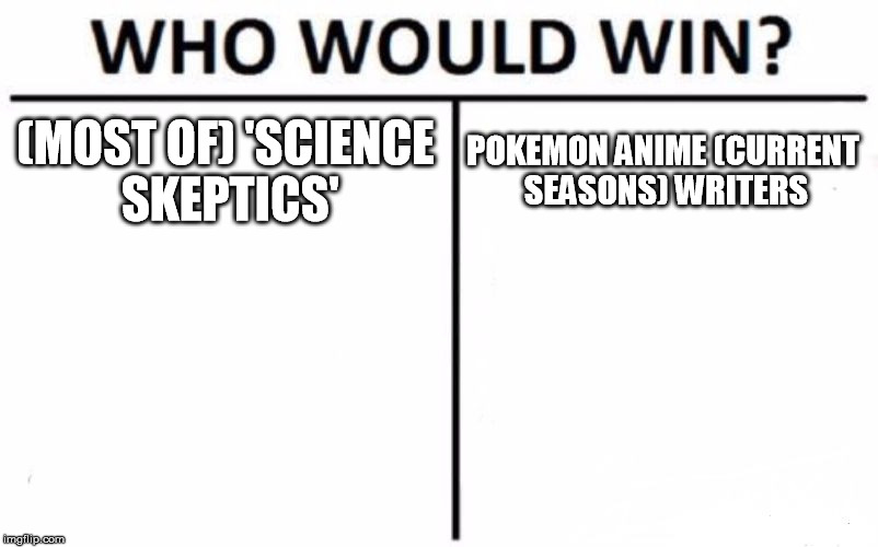 "who would win between those whose their word is (for most people) only things seen as ""Word of God"" 