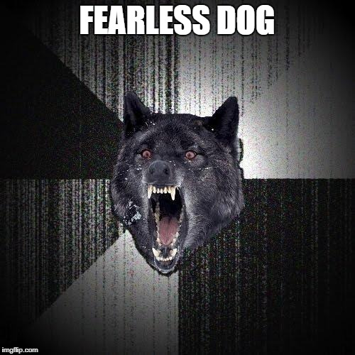 FEARLESS DOG | made w/ Imgflip meme maker