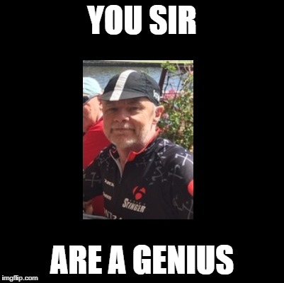 YOU SIR ARE A GENIUS | made w/ Imgflip meme maker