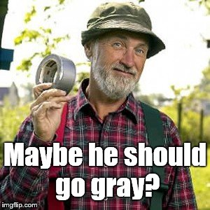duct tape, of course | Maybe he should go gray? | image tagged in duct tape,of course | made w/ Imgflip meme maker