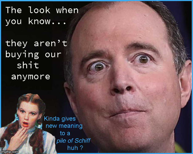 Stepping in a pile of Schiff | image tagged in current events,adam schiff,traitors,political meme,politics lol,funny memes | made w/ Imgflip meme maker