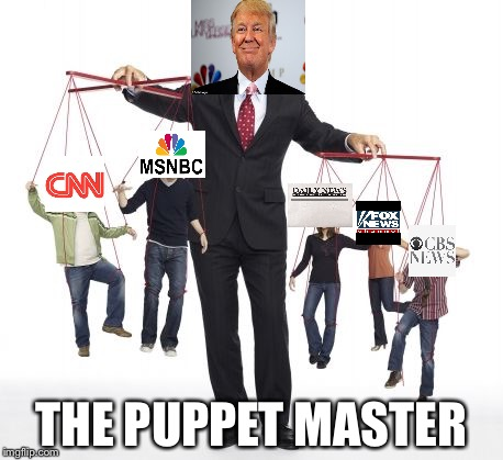 puppeteer | THE PUPPET MASTER | image tagged in puppeteer | made w/ Imgflip meme maker