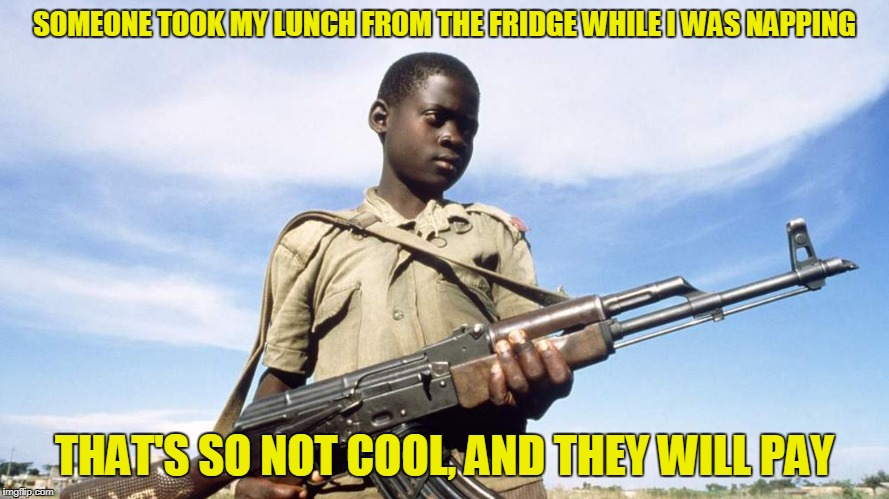 SOMEONE TOOK MY LUNCH FROM THE FRIDGE WHILE I WAS NAPPING THAT'S SO NOT COOL, AND THEY WILL PAY | made w/ Imgflip meme maker