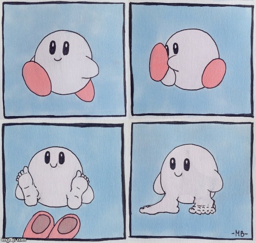 kirby irl | image tagged in funny,memes,funny memes | made w/ Imgflip meme maker
