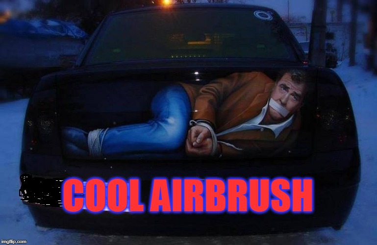 does he look a lil like Mel Gibson? | COOL AIRBRUSH | image tagged in trunk,body | made w/ Imgflip meme maker