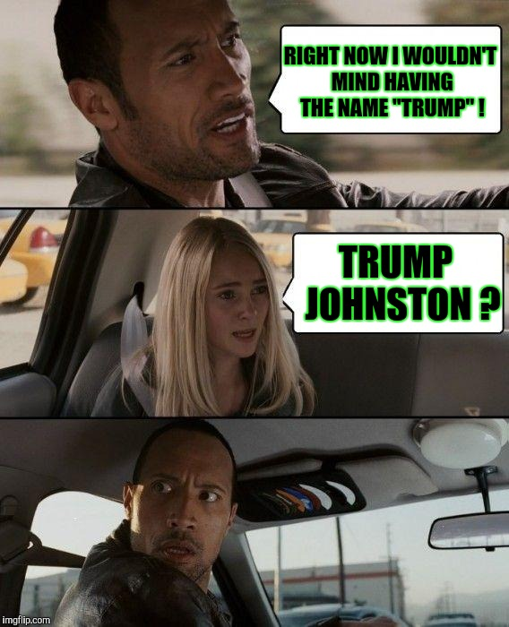 "God Bless Us With More Blondes | RIGHT NOW I WOULDN'T MIND HAVING THE NAME ""TRUMP"" ! TRUMP  JOHNSTON ? 
