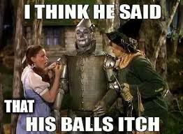 Precisely | THAT | image tagged in scarecrow wizard balls | made w/ Imgflip meme maker