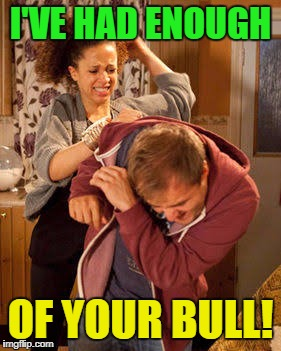 I'VE HAD ENOUGH OF YOUR BULL! | made w/ Imgflip meme maker