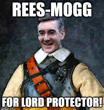 REES-MOGG FOR LORD PROTECTOR! | image tagged in rees mogg | made w/ Imgflip meme maker