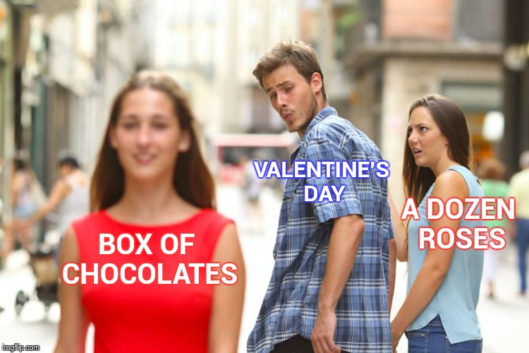 """ . . . You never know what you're gonna get"" 
