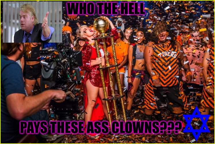 Ass Clowns | WHO THE HELL PAYS THESE ASS CLOWNS??? | image tagged in ass clowns,scumbag,katy perry,skank,whore | made w/ Imgflip meme maker