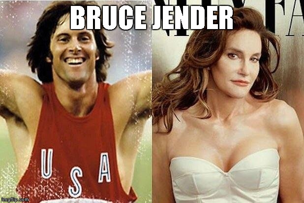 Bruce Jenner: unlocked everything at the Olympics | BRUCE JENDER | image tagged in memes,olympics | made w/ Imgflip meme maker