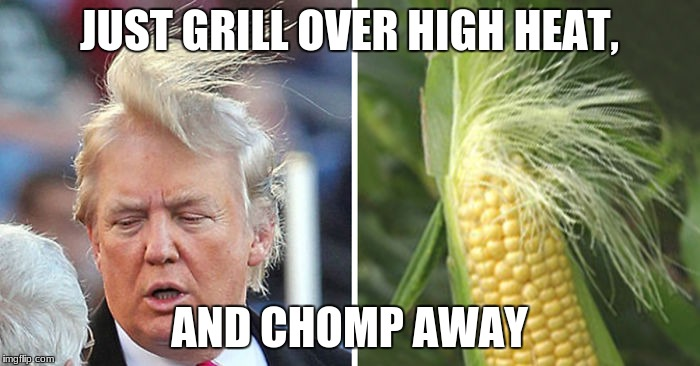 JUST GRILL OVER HIGH HEAT, AND CHOMP AWAY | made w/ Imgflip meme maker