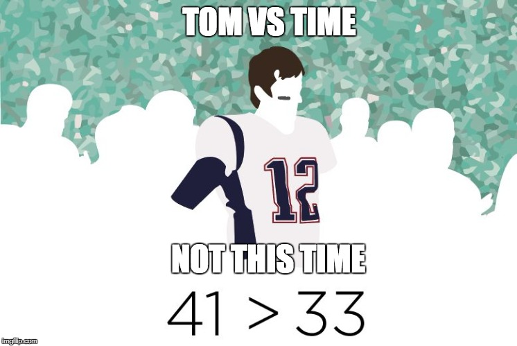 TOM VS TIME NOT THIS TIME | image tagged in tom vs time | made w/ Imgflip meme maker