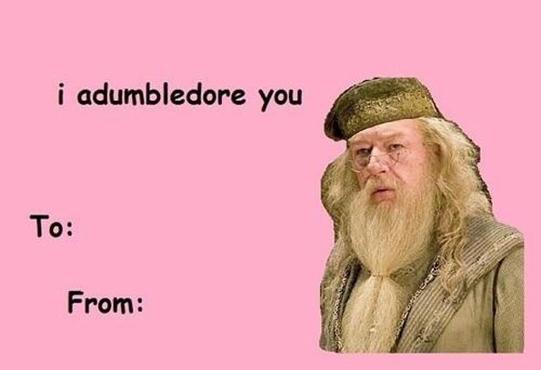 Valentines Day Card Meme Dumbledore Meme Generator Imgflip