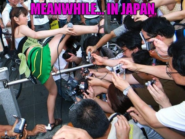 Photoshoot | MEANWHILE... IN JAPAN | image tagged in memes,meanwhile in japan,photoshoot | made w/ Imgflip meme maker