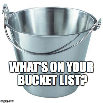 bucket list meme