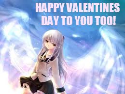 HAPPY VALENTINES DAY TO YOU TOO! | made w/ Imgflip meme maker