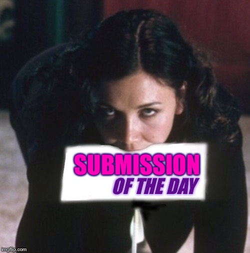 Happy Valentines Day imgflippers. May all your submissions rise to the top! | SUBMISSION OF THE DAY | image tagged in secretary,valentine's day,submissions | made w/ Imgflip meme maker