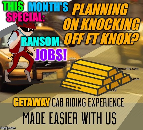 THIS RANSOM SPECIAL: JOBS! MONTH'S | made w/ Imgflip meme maker