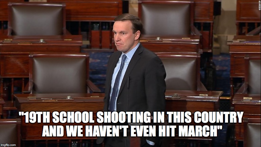 "19th | ""19TH SCHOOL SHOOTING IN THIS COUNTRY AND WE HAVEN'T EVEN HIT MARCH"" 