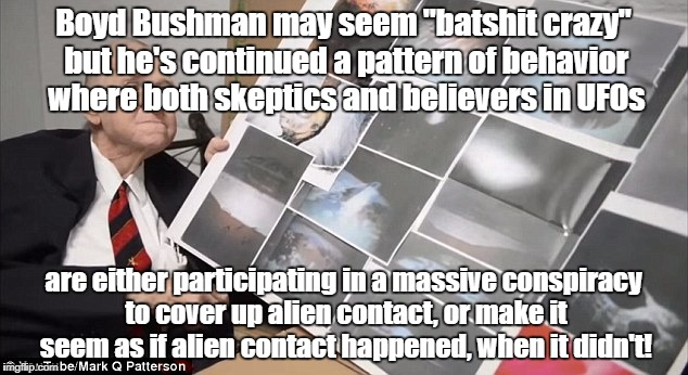 "Is Bushman ""batshit crazy"" 