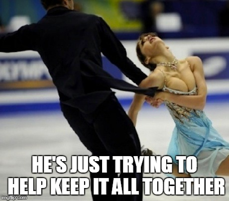 HE'S JUST TRYING TO HELP KEEP IT ALL TOGETHER | made w/ Imgflip meme maker