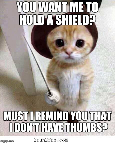 YOU WANT ME TO HOLD A SHIELD? MUST I REMIND YOU THAT I DON'T HAVE THUMBS? | image tagged in mario jacovini | made w/ Imgflip meme maker