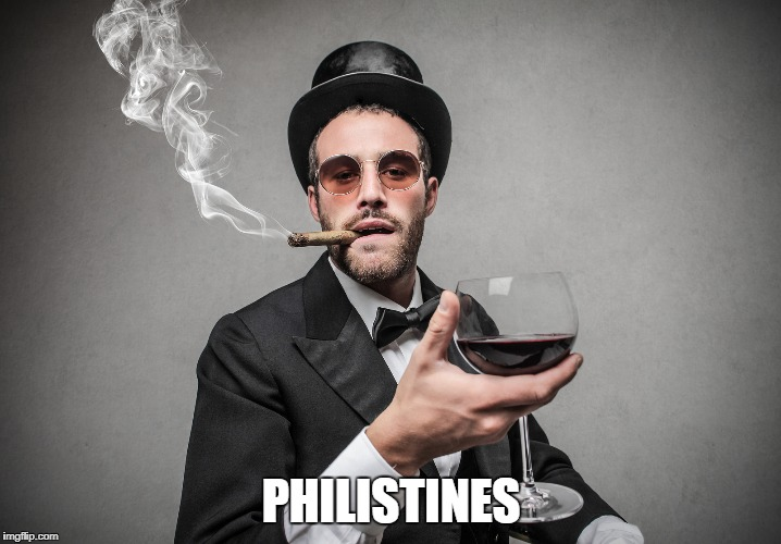 PHILISTINES | made w/ Imgflip meme maker