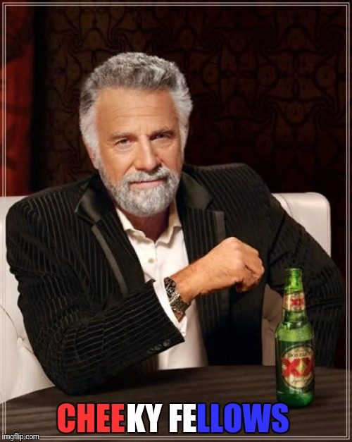 The Most Interesting Man In The World Meme | CHEE KY FE LLOWS | image tagged in memes,the most interesting man in the world | made w/ Imgflip meme maker