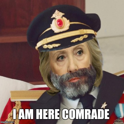 I AM HERE COMRADE | made w/ Imgflip meme maker