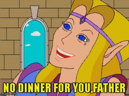 NO DINNER FOR YOU,FATHER | made w/ Imgflip meme maker