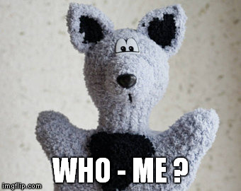 WHO - ME ? | made w/ Imgflip meme maker