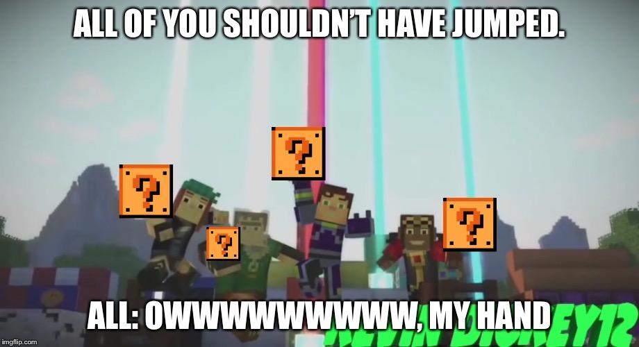 Minecraft Story Mode Memes Gifs Imgflip