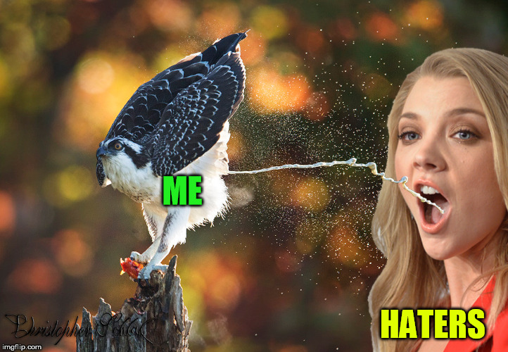 ME HATERS | made w/ Imgflip meme maker