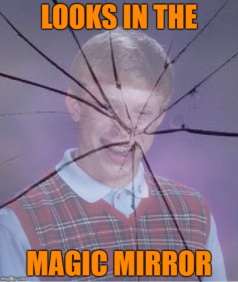 LOOKS IN THE MAGIC MIRROR | made w/ Imgflip meme maker