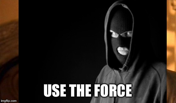 USE THE FORCE | made w/ Imgflip meme maker