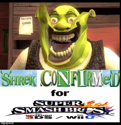 New news from Nintendo! | image tagged in shrek | made w/ Imgflip meme maker
