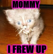 MOMMY I FREW UP | image tagged in i frew up | made w/ Imgflip meme maker