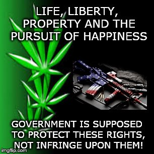 Libertarianism | LIFE, LIBERTY, PROPERTY AND THE PURSUIT OF HAPPINESS GOVERNMENT IS SUPPOSED TO PROTECT THESE RIGHTS, NOT INFRINGE UPON THEM! | image tagged in liberty,freedom,guns,marijuana,gambling,porn | made w/ Imgflip meme maker