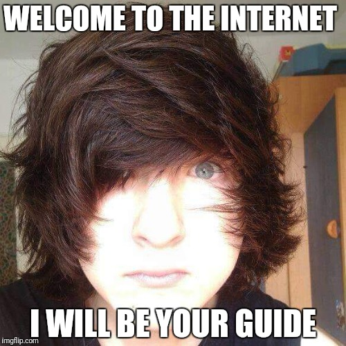 I will be your guide | WELCOME TO THE INTERNET I WILL BE YOUR GUIDE | image tagged in internet,internet guide | made w/ Imgflip meme maker