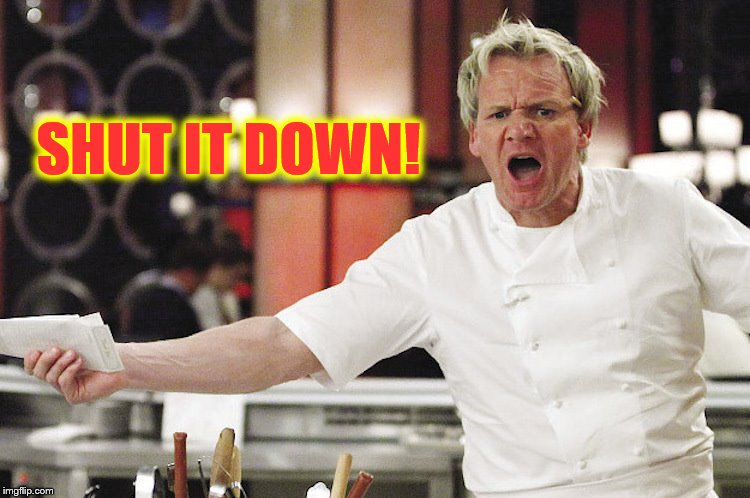 Gordon Ramsay Kitchen Nightmares Meme