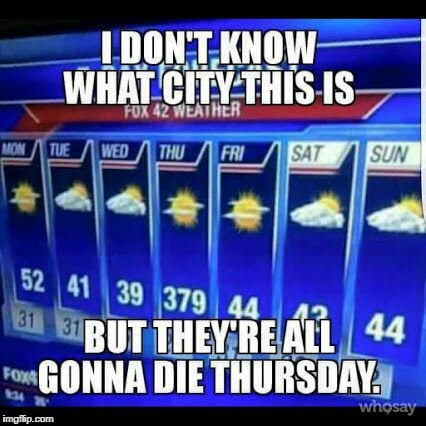 Sure Is Hot Today | image tagged in hot weather,funny meme | made w/ Imgflip meme maker