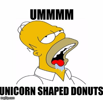 UMMMM UNICORN SHAPED DONUTS | made w/ Imgflip meme maker